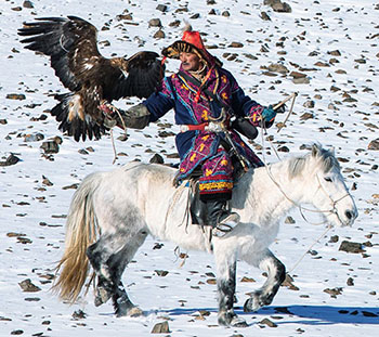 Classic Eagle Hunting & Explore Alatau Mountains